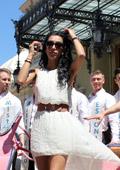Принцеса Стефани впечатлена от кандидатите за Мистър Европа