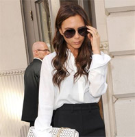 Victoria Beckham guest editor in Vogue