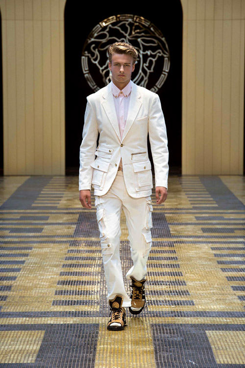 Мъжка мода: Колекция пролет-лято 2013 на Версаче