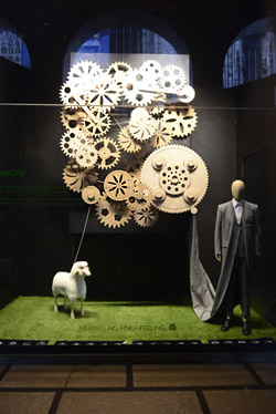 The Global Campaign for Wool was held in Milan