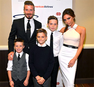 Victoria Beckham is inspired from her family