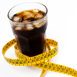 Диетичните напитки като причина за напълняване