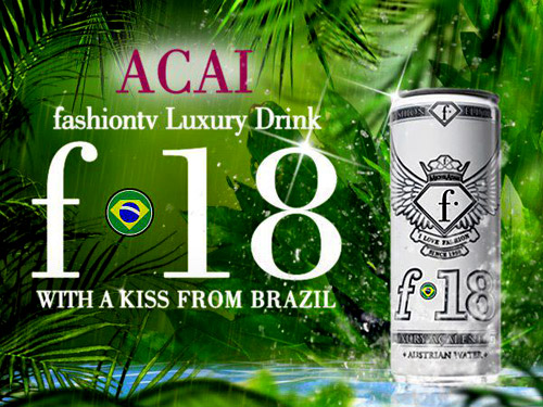Модният гигант Fashion TV пусна енергийна напитка с Акай Бери