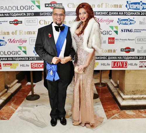 """Принцеса и бизнес дами с тоалети от Bridal Fashion на """"Бизнес дама на годината"""""""