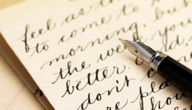 Handwriting improves health
