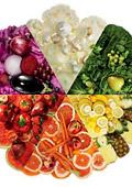 Подберете подходящия цвят храна според нуждите на организма си