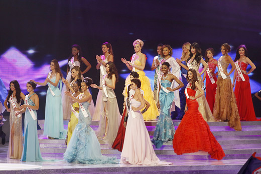 Megan Young was crowned Miss World 2013