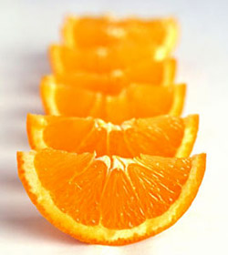 Orange foods for your health