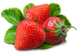 The strawberries are antiallergic