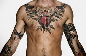 Татуировките затрудняват сериозно откриването на кожни образувания