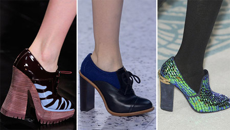 Shoes trends for Fall/Winter 2013-2014