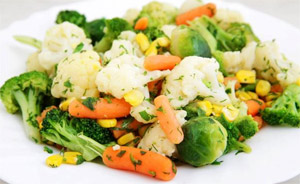 Хапвайте зеленчуци срещу радиация