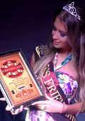 "Велина Узунова стана ""Miss Friendship 2013"" на конкурса ""Princess of the 7 continents"""