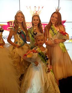Ралица Христова с титла за България от LITTLE MISS WORLD 2013
