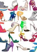 Жената носи само 1/4 от купените обувки
