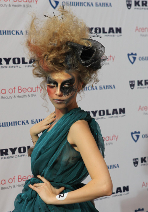 Конкурс за гримьори и дизайнери на маникюр по време на Arena of Beauty 2014