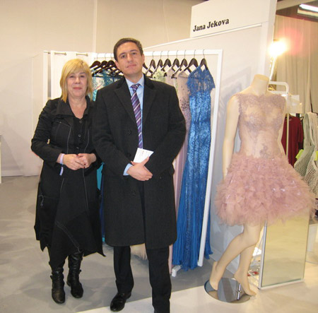 """Жана Жекова с колекция """"Париж 1"""" на най-престижното модно изложение WHO IS NEXT"""
