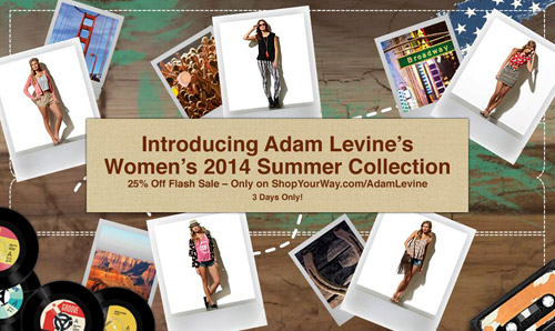 Американският певец Адам Ливайн с колекция дамски облекла