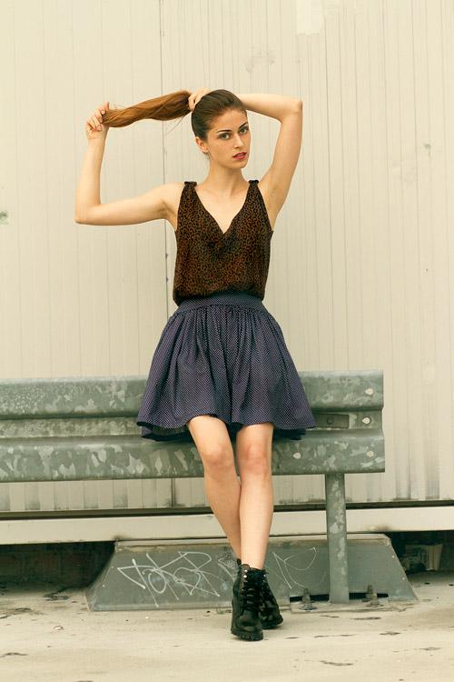 Адриана Рика предлага романтична, изискана и женствена естетика