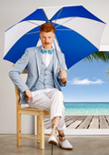Geometry and serenity in Andrews/ Spring-Summer 2014 collection