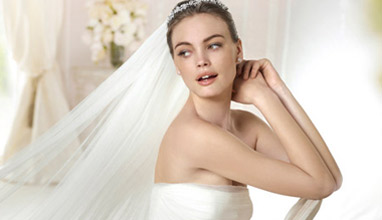 Bridal dresses 2015 by some of the world's most famous fashion houses at 'Brilyantin' Wedding Center
