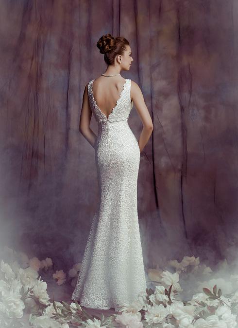 Булката на Пролет 2014 - принцеса или русалка в бяло