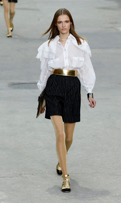 Chanel presented Spring/Summer 2015 during the Paris Fashion Week