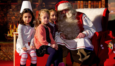 Истинският Дядо Коледа от Лапландия пристигна у нас