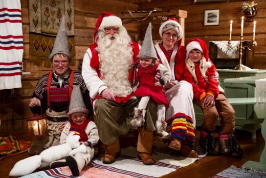 Истинският Дядо Коледа от Лапландия идва за първи път у нас