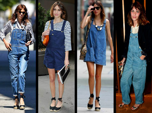 Spring-Summer 2014 fashion trends: Dungarees