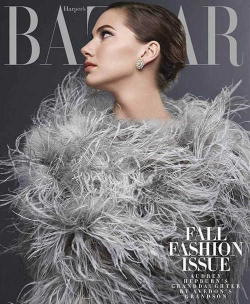 Внучката на Одри Хепбърн с дебют в модата