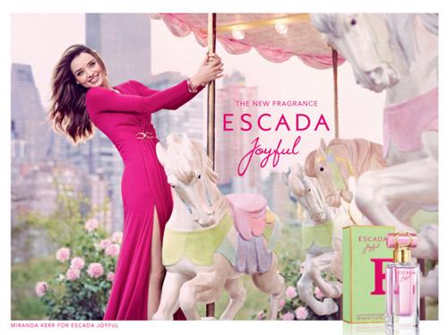 Миранда Кер - рекламно лице на новото ухание Escada Joyful