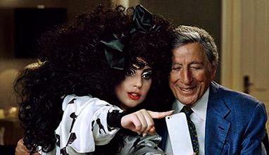 Лейди Гага и Тони Бенет са лицата на коледната кампания на H&M