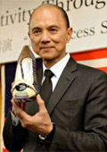 Jimmy Choo designed Fukushima shoes