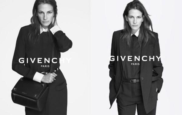 Джулия Робъртс е лицето на пролетно-лятната кампания на Givenchy