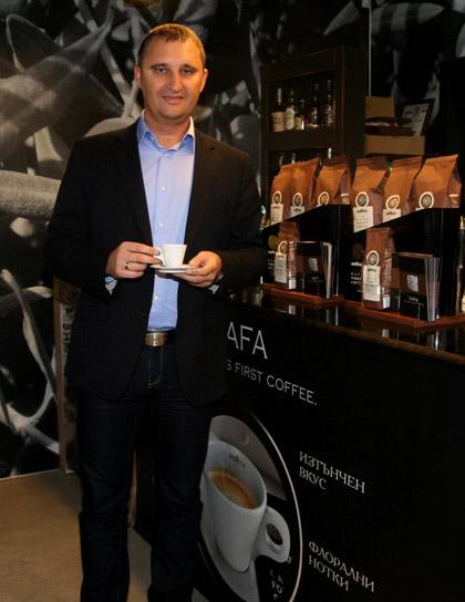 KAFA - първото кафе на Земята