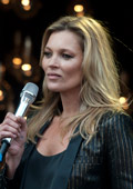 Kate Moss launched her collection for Topshop