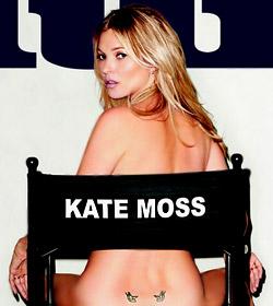 Кейт Мос на корицата на френско мъжко издание