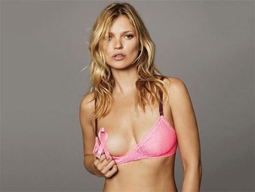 Моделът Кейт Мос и дизайнерката Стела МакКартни се обединиха срещу рака на гърдата