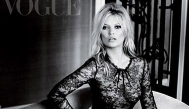 Декемврийското издание на Vogue е посветено на Кейт Мос