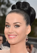 Katy Perry with a jewelry collection