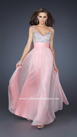 The most popular 2015 prom dress by LA FEMME