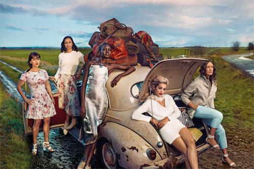Рита Ора и Ема Томпсън са част от пролетно-лятната рекламна кампания на Marks and Spencer