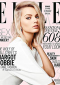 Марго Роби на корицата на мартенския брой на Elle в Австралия