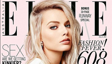 Margot Robbie for the Australian