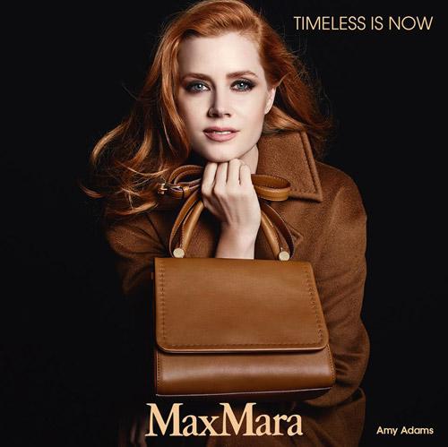 Ейми Адамс е лице на колекцията аксесоари за Есен-Зима 2014/2015 на Max Mara