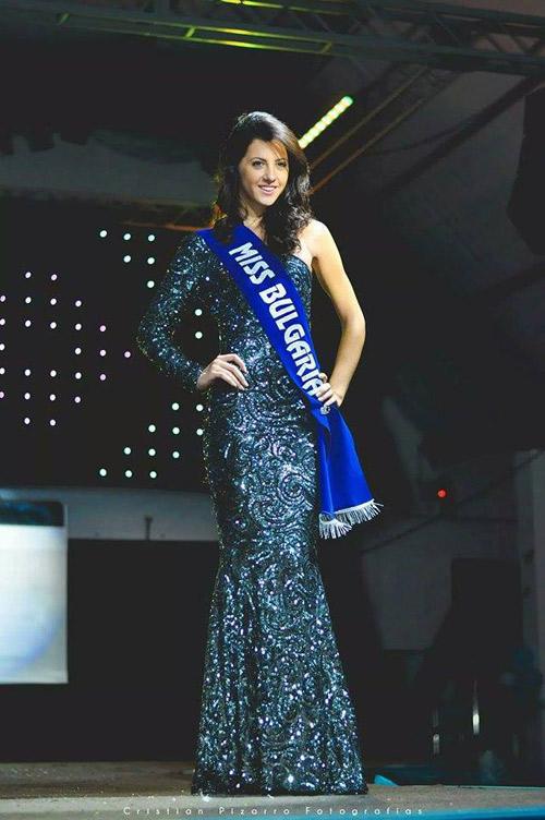 Мина Попова - Miss Planet Universe Peru 2014