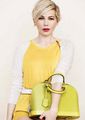Michelle Williams is the new face of Louis Vuitton
