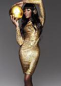 """Наоми Кембъл със """"златна"""" фотосесия за победата на Германия на Мондиал 2014"""