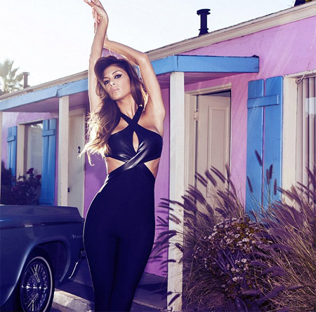 Nicole Scherzinger presented her debut collection